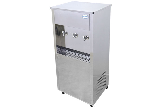 POLAR SS WATER COOLER ATM-45 GLN, THREE TAPS